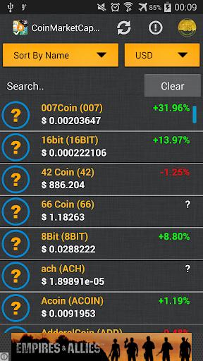 CoinMarketCap Unofficial