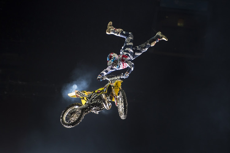 Travis Pastrana, the professional motorsports competitor and stunt performer who created Nitro Circus, is on a mission to open training centres around the world to develop the next generation of athletes. Picture: SUPPLIED