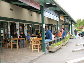 Photo: Day 2: Lopez Village shops, and Holly B's bakery (where we often stopped for pastries).