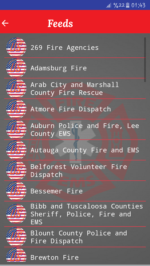 Fire And EMS Scanner- screenshot