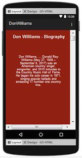 Don Williams Top Songs & Hits Lyrics. - náhled