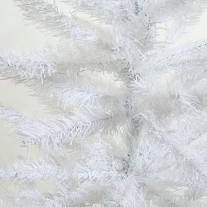Brad alb artificial Premium, 1.50 metri, 400 de crengute