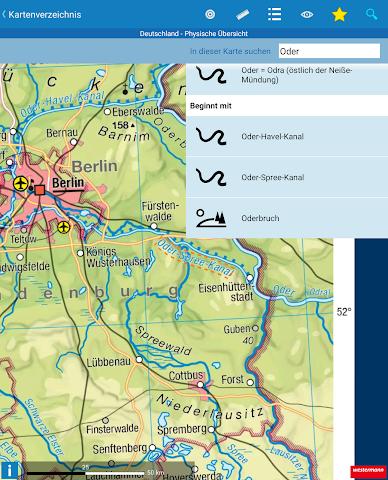 android Diercke Weltatlas digital Screenshot 2