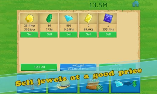 Idle Gold gem clicker- screenshot thumbnail