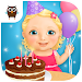 Sweet Baby Girl - Birthday icon