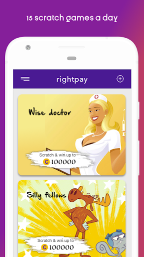 RightPay - Scratch and earn paytm cash screenshot 1