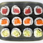2. Tuna, Salmon and Cucumber