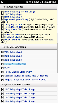 Telugu songs wap by all videos group entertainment category.