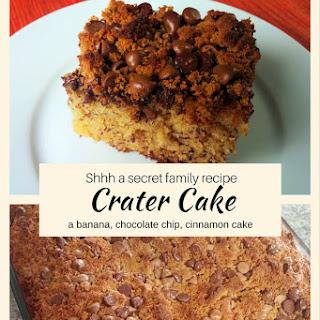 Crater Cake.