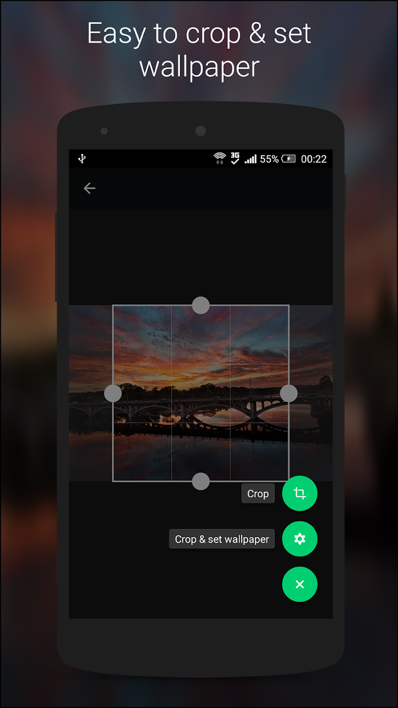 Wallz - HD Stock, Community & Live Wallpapers Screenshot 5