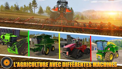 Code Triche Tracteur agricole pilote: village Simulator 2019 apk mod screenshots 4