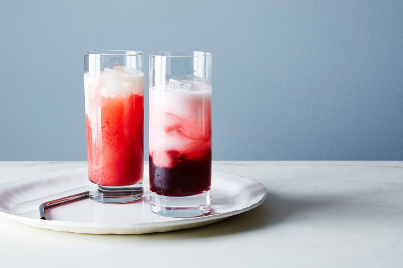 Endless possibilities of syrup, ice, seltzer, and cream