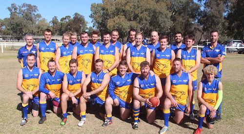 Standing, manager Darren Raeck, Zac Lauritsen, David Kennedy, Bill Melbourne, Espen Fredriksen , Tim Hayne, Lucas Valentine, Daniel Hughes, Warren Conaty, Corey Robinson, Michael Leven, Todd Jones, Carlos Trapero, Blake Sunderland, coach Nick Sandlant, front, Tom Mackey, Ben Maddern, Travis Heffernan, Ray Nixon, Luke McDermott, Dan Nixon, Tom Denyer and Keegan Richardson. The side played in specially made guernseys for their charity match on Saturday. The guernseys were then auctioned off at the club's ball on Saturday night to raise money  for the Cancer Council.