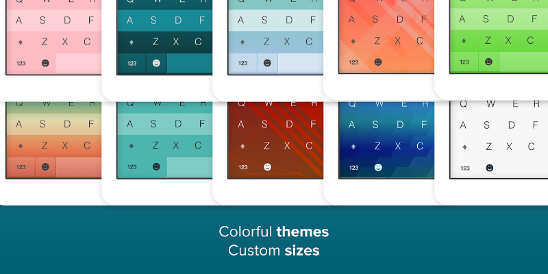 Fleksy- Emoji & gif keyboard app Screenshot 12