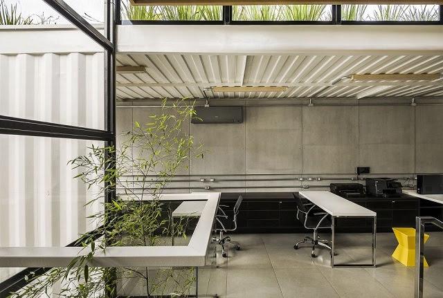 Desain Kantor Kontainer - Rodrigo Kirck Arquitetura-2