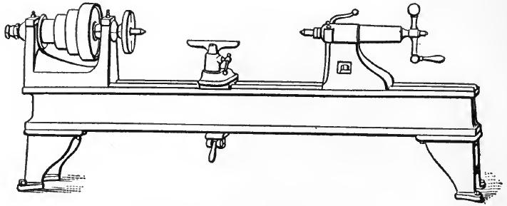 A Bench Lathe