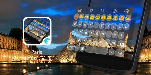 Emoji Keyboard-Paris Photo