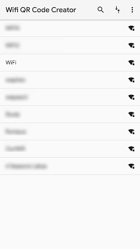 [ROOT] Wifi QR Code Creator & Info (+ xposed) 0.2.0 screenshots 1