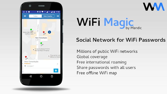 App WiFi Magic by Mandic Passwords APK for Windows Phone