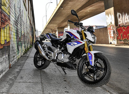 The G310 R manages to retain the appearance of the larger BMW bikes.   Picture: BMW MOTORRAD SA
