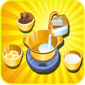 girls cooking games chocolate icon