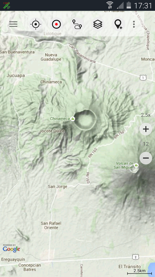Central America Topo Maps Pro Android Apps On Google Play - Atlogis us topo maps
