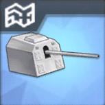 127mm単装砲(主砲)T3