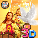 Jesus 3D Parallax Launcher Theme icon