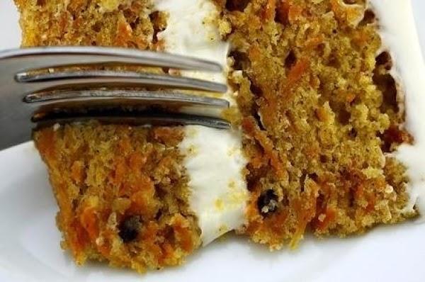 Mom's Carrot Cake Recipe