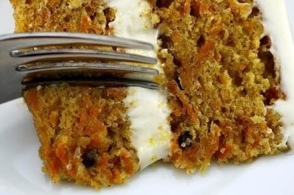 Mom's Carrot Cake Recipe