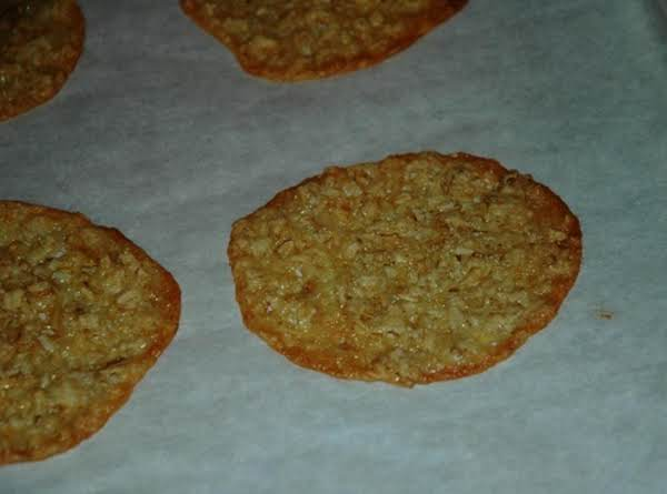 Oatmeal Lace Cookies (flourless) Recipe