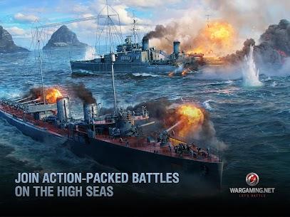 World of Warships Blitz: Gunship Action War Game 8