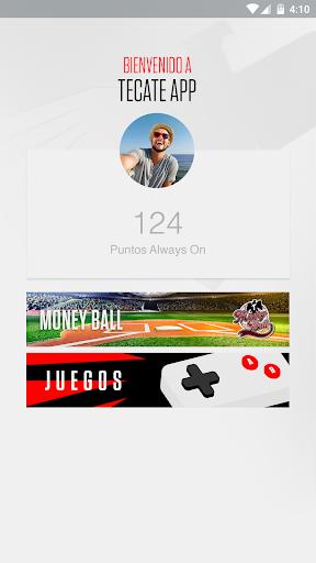 TecateApp  screenshots 1