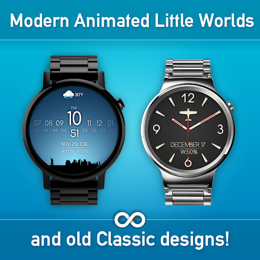 Download Watch Face - Minimal & Elegant for Android Wear OS MOD APK 8