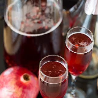 Pomegranate Champagne Sparkler