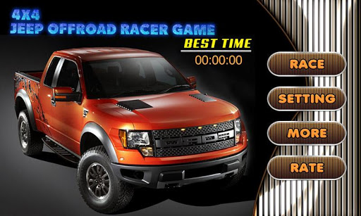 4X4 Jeep Offroad Racing Game