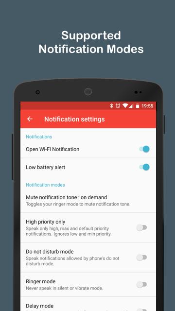 Audify Notifications Reader Screenshot 4