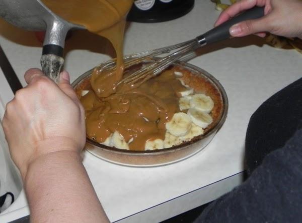 In a large saucepan, melt butter. Stir in the flour, brown sugar, cinnamon, salt...