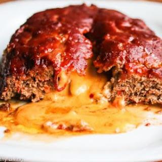 Turkey Quinoa Mushroom Meatloaf with Sriracha Barbecue Sauce.