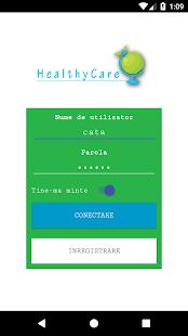 HealthyCare - náhled