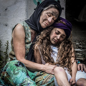 Refugees by Adriano Freire - People Family