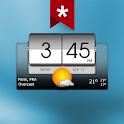 3D Flip Clock & Weather (Ad-free) icon