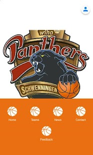 Panthers App - náhled