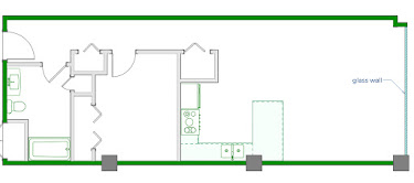 Keaton Floorplan Diagram 780 sq ft