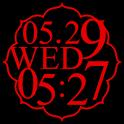 花魁時計widget icon