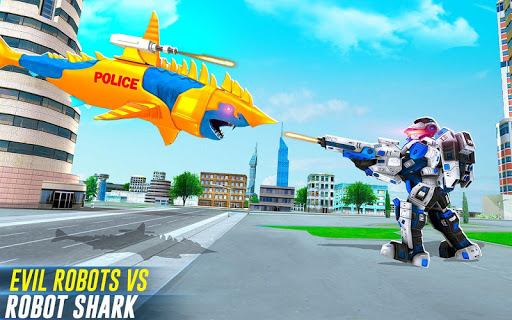 Robot Shark Attack: Transform Robot Shark Games screenshots 7