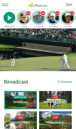 The Masters Golf Tournament screenshot 2