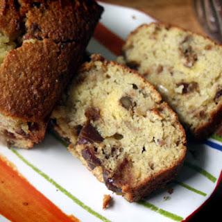 Grain-free Date Nut Bread with Coconut Flour.