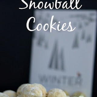 Snowball Cookies | Mexican Wedding Cookies | Russian Tea Cakes