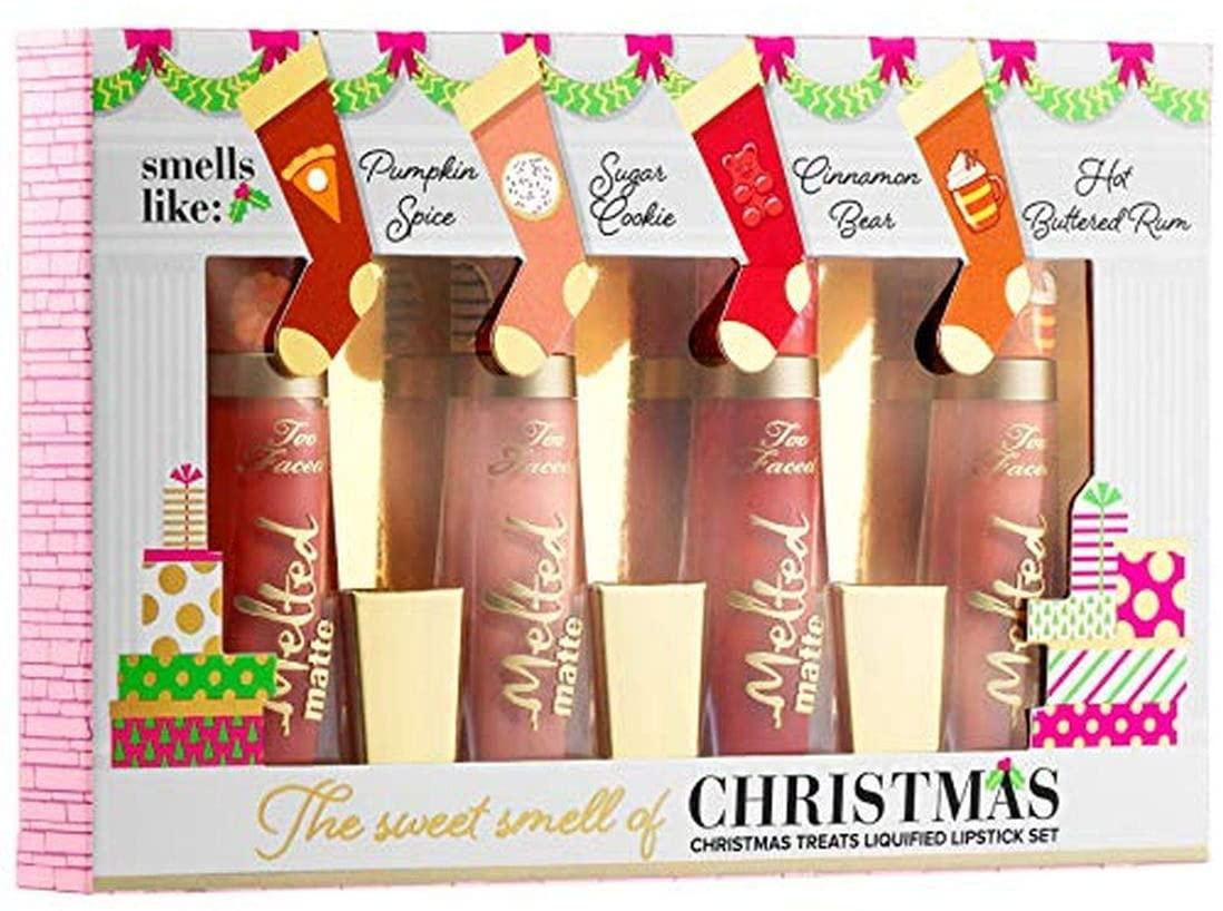 4-Pc. TOO FACED The Sweet Smell of Christmas-Mini Melted Liquid Lipstick  Set: Amazon.co.uk: Beauty